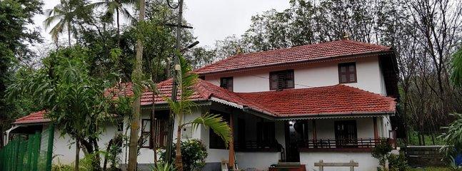 Entrance of Anamala Homestays at Tiruvilwamala