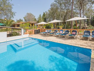 Holiday Villa EL PINAR, 6 people