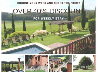 Exclusive Villa with Pool,Hot tub, A/C, 6 bd, Free Wi-Fi, 15 km from Siena