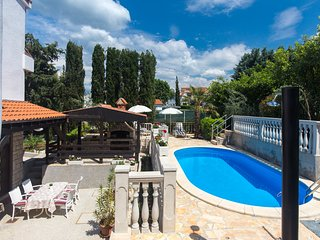 Two bedroom apartment in Malinska with garden and swimming pool - 405