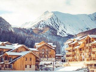 Appart confortable et sympa 8p, près du télésiège + écoles de ski