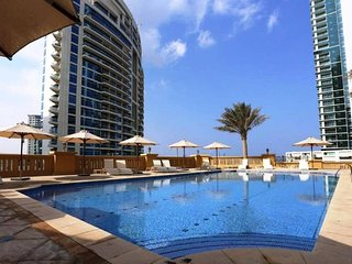 Nikolay/JBR/SHA#603 . Luxurious apartment in front of the beach