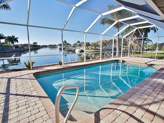 Cape Coral House w/ Private Pool & Dock - Views!