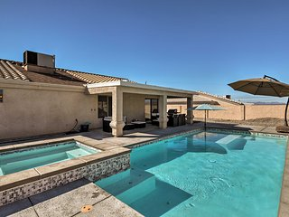 Central Lake Havasu City House w/Grill, Pool Table
