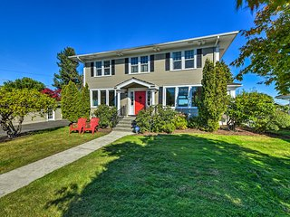 NEW-Port Angeles Colonial Home w/Waterfront Views!