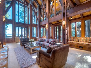 The Tahoe Dream Lodge | A Lakefront LUXE Property