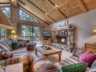 The Northstar Family Cabin | Sleeps 11 + Hot Tub
