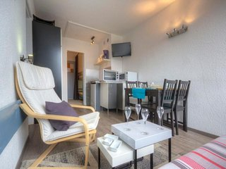 Deux pièces 6 personnes confort avec balcon, résidence Armoise