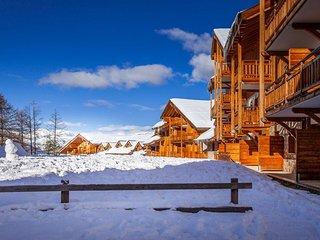 Appartement cosy et spacieux 9p, près de l'école de ski !