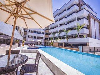 GOLDFLAT - Com vista para a piscina Cabo Branco