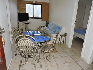 1 bedroom apartment for 5 people in Ubatuba Apto 46B Ubatuba