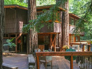 BK Villas-Sonoma Russian River Relaxing Getaway In A Treehouse