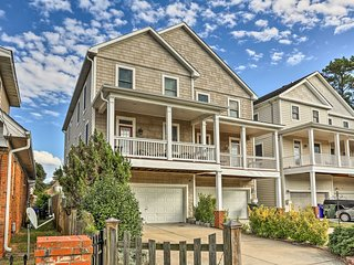 NEW! Spacious Norfolk Townhome- 2 Blocks to Beach