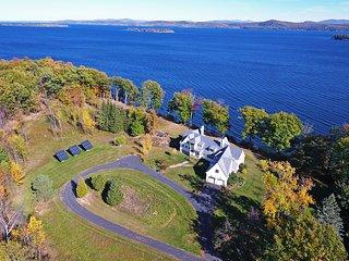 Stunning South Hero Home on Lake Champlain w/Views