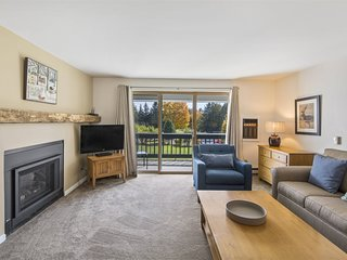 Beautiful Remodeled Ski-in/Ski-out Lodge Condominium at Stowe`s Toll House Lift