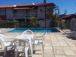 Casa em condominio para temporada com piscina