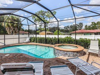 NEW LISTING! Breezy home w/ pool/hot tub, terrace & bikes-near beaches/shops
