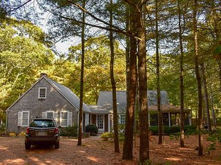 Four bedroom Bass River home located next to 12 acre pine forest