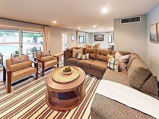 Sublime Desert Retreat! Contemporary 3BR w/ Backyard Pool Oasis & Family Room