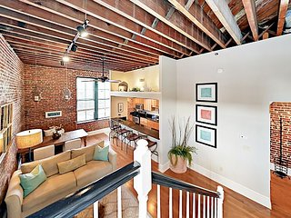 "Walk Everywhere Downtown! Elegantly Restored 1860's 2BR ""Loft on Congress"""