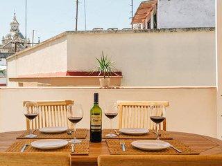 Atico Acetres Terraza privada-Comfort-Centro-Nuevo