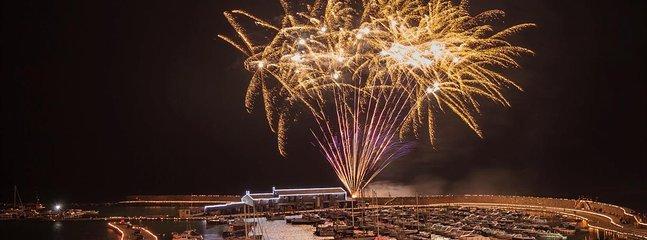 Fireworks at Lyme
