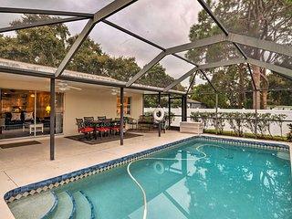 NEW! Home w/Heated Pool - 2 Mi to Siesta Key Beach