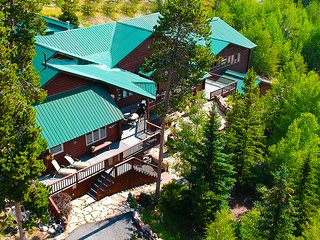 NEW! Exquisite Rocky Mountain Lodge Home with a one of a kind Gathering Place