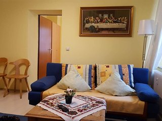 Am-Berg Ferienwohnung in Bad Kohlgrub 55 m2 (550 Sqft) Am-Berg Holiday Apartment