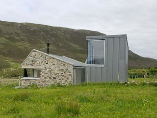 The Byre Northton Isle of Harris A modern converted croft Byre
