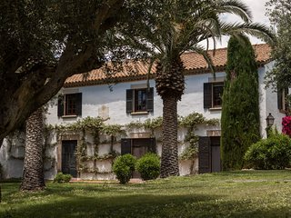 Cottage Sitges  Mas Peirot. 14/18 pers. Chill-out, Porche, Jardin y Piscine XXL