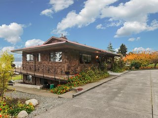 NEW LISTING! Waterfront home on Sequim Bay w/ patio, fireplace & beautiful views