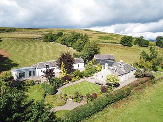 Middleholms is an old farm steading set in a large well maintained garden.