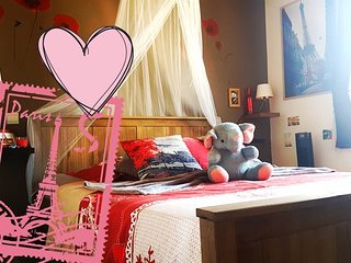 Cindy's Home *Romantic room for 2, 15mn from Paris