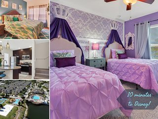 Themed 4br luxury townhouse -10 minutes to DISNEY -  Seven dwarfs resort