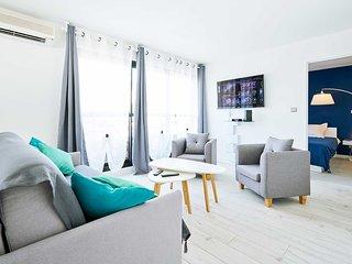 Bel Appartement pres de la plage (80m) , Saint-Pierre, Reunion (LUMA)