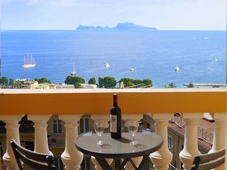 Spacious Light Studio - Balcony with Views of Bay of Napoli & Capri - Wi-Fi