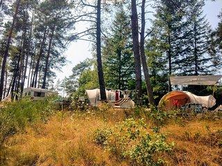 Camping Moulin de Lacombe, nostalgisch kamperen in een authentieke omgeving