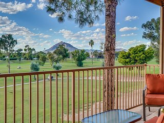 Scottsdale Golf Course Haven- Camelback views
