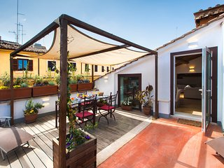 2BR apartment with Terrace Piazza Navona