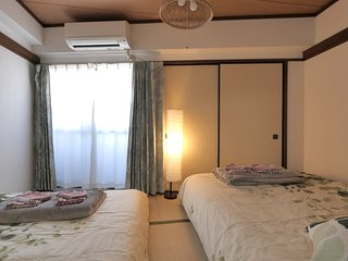 large double beds