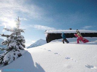GENTIANES 8 PERS La Clusaz, skis aux pieds