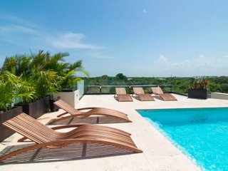 Riviera Maya Haciendas, Casa Vista Al Cielo, 6 Guests Roof top + Pool
