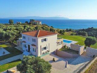 Villa Darymine, Cephalonia, Skala