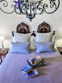The antique bed (Queen size)