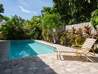 New pool home next to palm beach island
