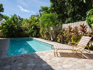 New pool home next to palm beach island