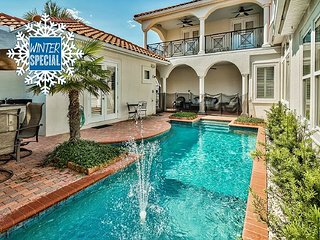 **2018 DISC** 2 FREE Golf Carts! Luxury Home w/ Private Pool + FREE VIP Perks