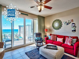 Winter up to 20% OFF! GULF VIEW Beach Condo *Resort Pool/Sauna+FREE VIP Perks