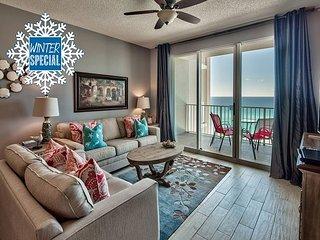 Winter upto 20%OFF! BEACH VIEW Condo *Resort! Heated Pool~Hotub~Gym+VIP Perks